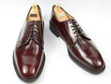 Loake 771T Polished Plain Derby Shoe - Burgundy Size UK 12.5 F