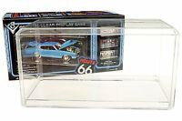 Acrylic Display Case for 1:18 scale Diecast Model Toy Cars figures bobble heads