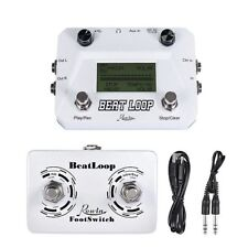 Rowin LBL-01 Beat Loop guitar looper with drum pedal for musical instruments
