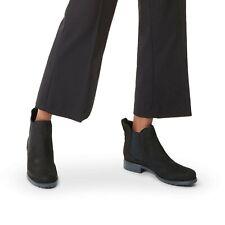 BNIB CARVELA KURT GEIGER WOMEN'S BLACK SUEDE CHELSEA ANKLE BOOTS 8/41 RRP £189