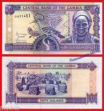 GAMBIA 50 Dalasis 2001 (2005) Pick 23c  SC  /   UNC