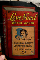 Love Novel of the Month June 1940 Book Length Red Star Yesterday's Shadow