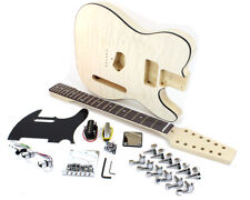 Pit Bull Guitars TL-12Q Electric Guitar Kit (Quilted Maple Veneer)