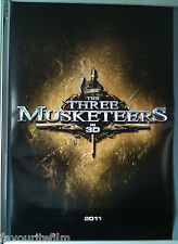 Cinema Poster: THREE MUSKETEERS, THE 2011 (Adv One) Orlando Bloom Logan Lerman