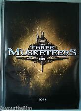 Cinema Poster: THREE MUSKETEERS, THE 2011 (Adv One) Orlando Bloom Logan Lerman