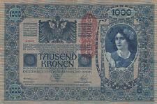 Billet banque AUTRICHE AUSTRIA 1000 KRONEN 1902 état voir scan 649