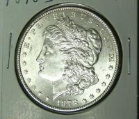 BU 1878-S Morgan Silver Dollar Uncirculated Reverse of 1878-S (102020)