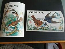 GHANA 1989 SG MS1398 BIRDS MNH