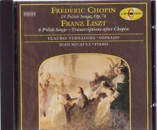 CHOPIN & LISZT |  19 Polish Songs, Op. 74, u.a. | CD-Album,  gebraucht