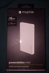 Brand New Mophie Powerstation mini 3000mAh External Battery White 3557