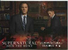Supernatural Seasons 4-6 Complete 72 Card Base Set