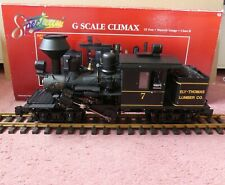 More details for bachmann spectrum 81184 g scale climax loco - ely thomas lumber - mint boxed