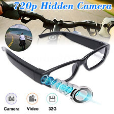 HD 720P Spy Camera Glasses Hidden Digital Eyewear Video Recorder DVR Camcorder