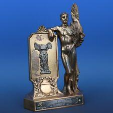 Art Deco Winged Victory of Samothrace Nude Male 1934 Cascade Co Montana Trophy