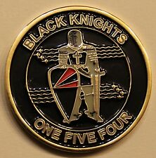 Strike Fighter Sq 154 VFA-154 Black Knights F-18 Navy Challenge Coin