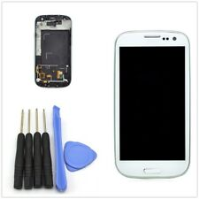 OEM Full Lcd Touch Screen Glass Digitizer & Frame For Samsung Galaxy S3 i9300
