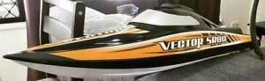 Volantex Vector SR80 Brushless 67km+ Speed Boat - RC Addict