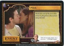 Buffy CCG TCG Angels Curse Unlimited Edition Card #19 PDA