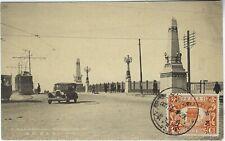 China Manchuria 1920s Harbin bridge Car and Tram card stamped, unposted