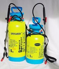 5 LTR Manual Pressure Sprayer Bottle Knapsack Spray Weed Killer CHEMICAL Garden