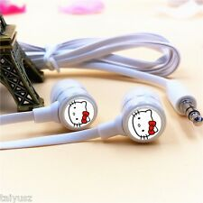 Cheap Cartoon Hello Kitty Earphone IN-Ear For Phone MP3/MP4 Laptop Gifts