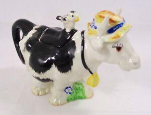 Vintage Price & Kensington (P&K) Collectable Cow Tea Pot Teapot