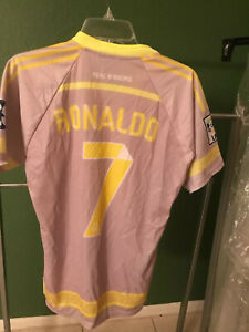 UNBRANDED Real Madrid Jersey gray  RONALDO NWOT large youth  SIZE