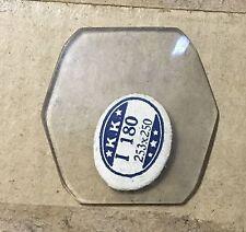 Vintage NOS Illinois Southampton Glass Watch Crystal Wristwatch
