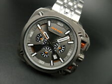 New Old Stock DIESEL Bamf DZ7344 Chronograph Black Stainless Steel Quartz Watch