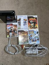 Nintendo Wii Console - Black And Games In VGC