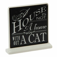 Best Of Breed A House Is Not A Home Without A Cat Pets Ceramic Plaque
