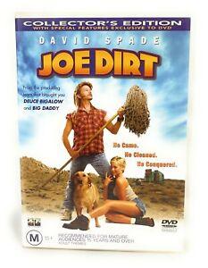 Joe Dirt (DVD, 2001) David Spade Collector's Edition Region 4 Free Postage