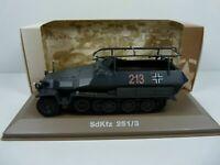 BL39U atlas IXO 1/43 Blindés WW2 : SdKfz 251/3 Wehrmacht Allemagne