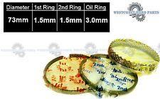 87-94 TOYOTA Tercel 1.5L 3E 3EE  SOHC 12V AFTERMARKET Complete  Piston Rings set