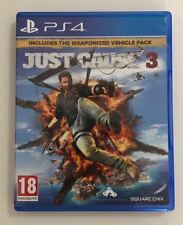 JUST CAUSE 3 PLAYSTATION 4 PS4 INCLUDE THE WEAPONIZED VEHICLE PACK