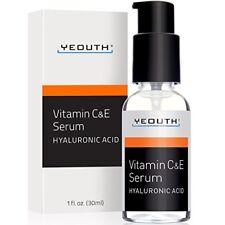 Sérum Antiedad Antiarrugas De Día Con Ácido Hialurónico Vitamina C Yeouth