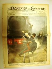 La Domenica del Corriere 29 Giugno 1930 Marsala Aquila Catastrofe monetaria
