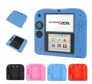 Protective Silicone Rubber Gel Skin Case Cover Protector for Nintendo2DS console