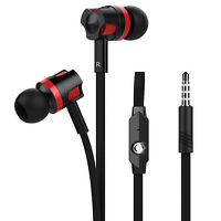 3.5mm In-Ear Earphones Bass Stereo Headphones Headset Earbuds With Microphone