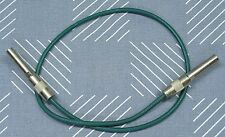 "Trompeter 50 Ohm 24"" Patch Cord Cables, P/N PC-24-50, PL1 connectors"