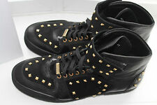 VERSAGE COLLECTION STUDDED BOOT BLACK #10us $495