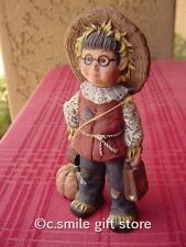 "Sarah's Attic ""Whimpy Halloween"" Original Sarah's Gang Figurine #3313 w/Coa Rare"
