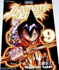 Manga SHAMAN KING tome 9 chez Kana édition aventure Hiroyuki Takei très bon état