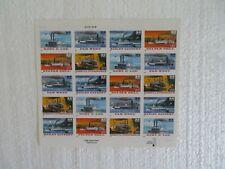 Scott # 3091-5 Riverboats Full Sheet MNH