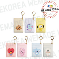 BT21 Baby Leather Patch Card Holder Keyring 7types Official K-POP Authentic MD