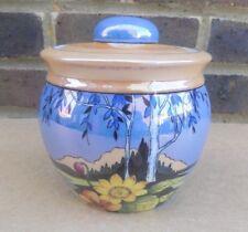 Vintage Japanese Storage / Tobacco Jar