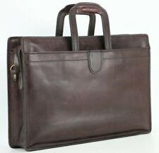 Belting HARTMANN Scholar Vintage Leather Briefcase Top Handle Attache Bag