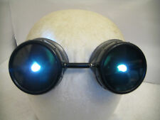 Pro Steampunk Goggles Cosplay SCI-FI Costume Gamer Robot Cyborg LED Hat Headgear