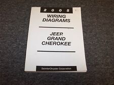 2005 Jeep Grand Cherokee Electrical Wiring Diagram Manual Laredo Limited V6 V8