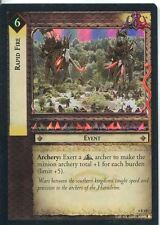 Lord Of The Rings CCG Foil Card TTT 4.R243 Rapid Fire